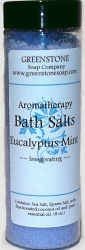 mint bath salts