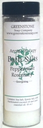peppermint rosemary bath salts